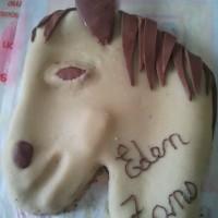 """Gâteau """"tête de cheval"""""""