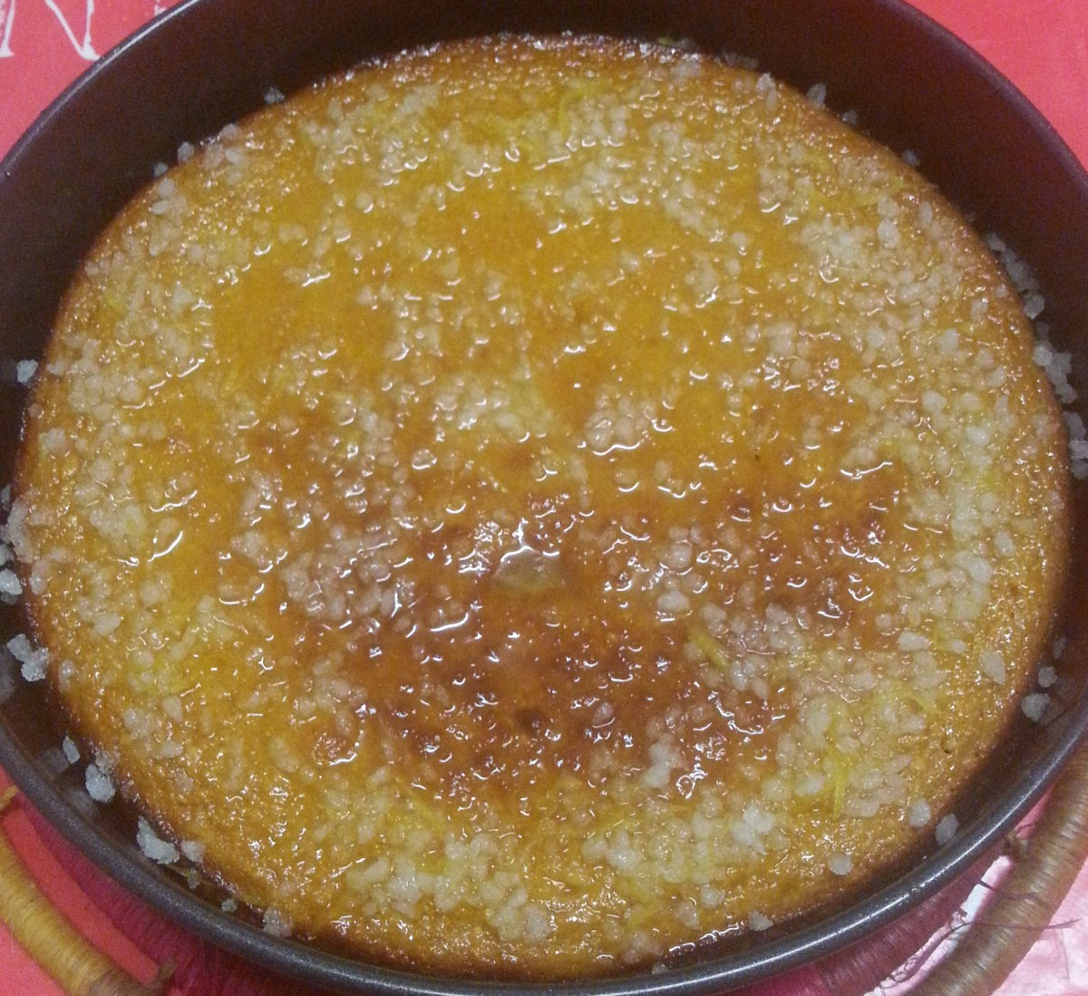 Gâteau orange-gingembre