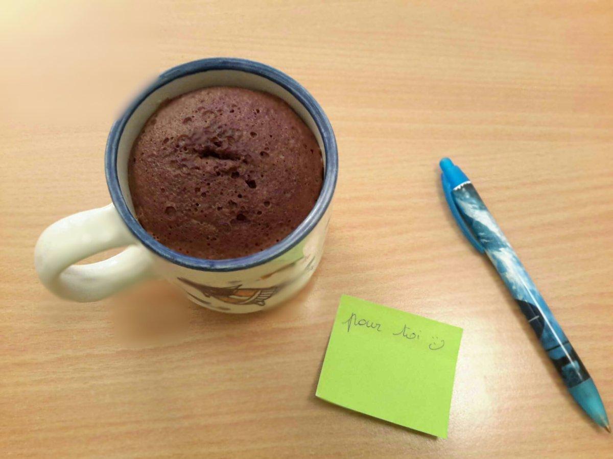 """Le mug-cake de ma """"collègue adorée"""""""