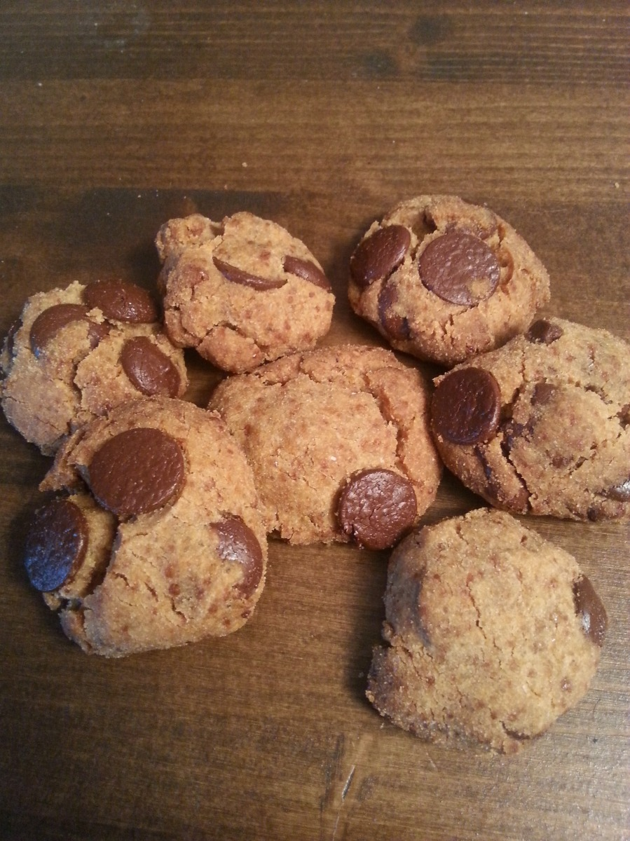 Biscuits croquants sans gluten et sans lactose