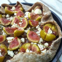 Tarte figues, feta et romarin {Lyne, épisode 2/3}
