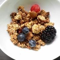 Granola au millet, amandes et figues {vidéo}