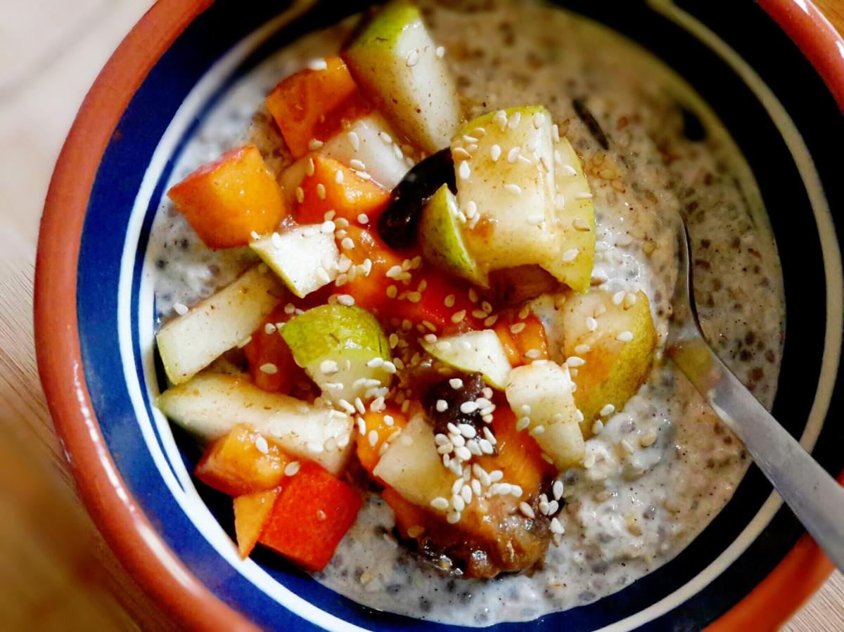 Petit déjeuner vitaminé en moins de 2 min