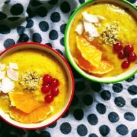 Smoothie d'or - ananas, mangue et curcuma