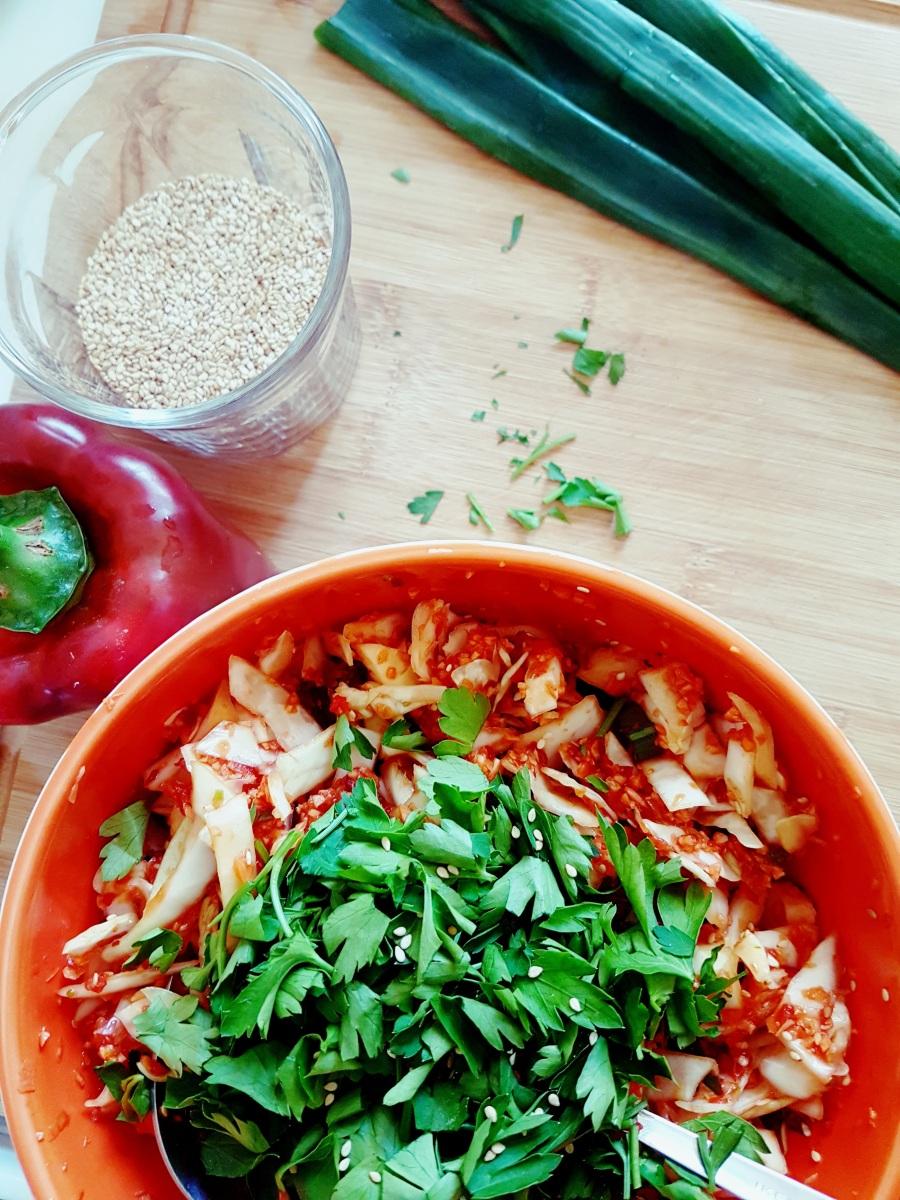 Kimchi rapide {pour les impatients}