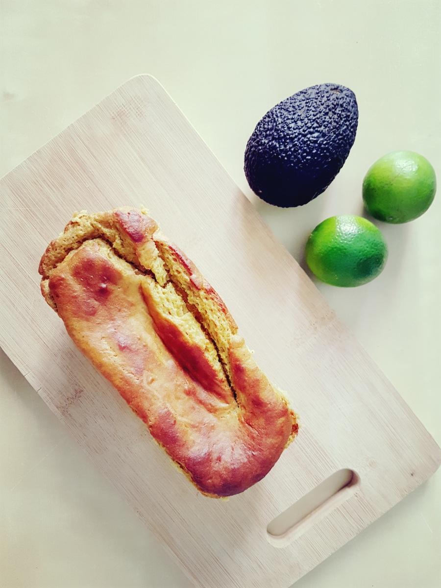 Delicioso gâteau à l'avocat et au citron