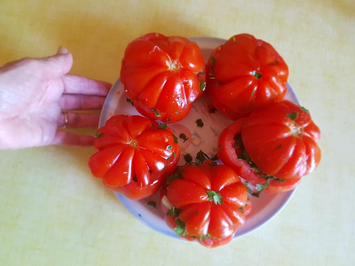 Tomates au riz de Mamie {recette en pas à pas}